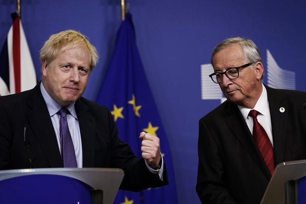 EU-leiders keuren nieuw akkoord over brexit goed, alle ogen op Brits parlement