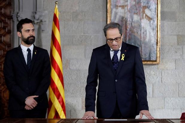 Spaanse kiescommissie zet Catalaanse minister-president af