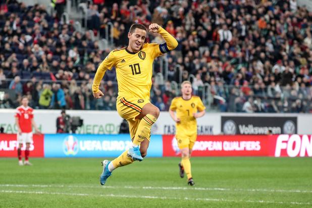 Eden Hazard voor derde keer op rij Rode Duivel van het Jaar