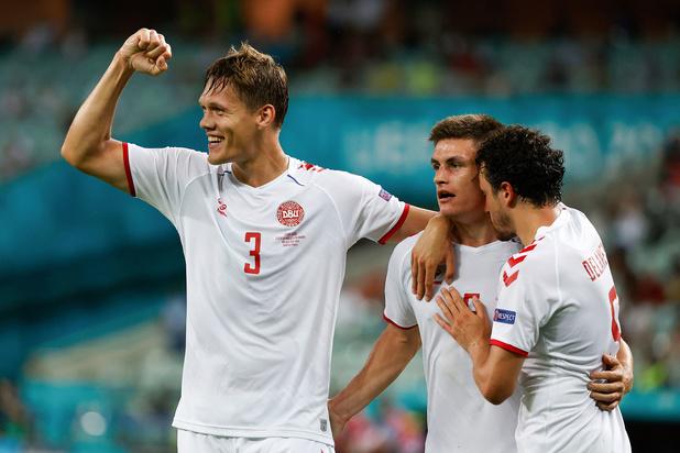 Deens EK-sprookje duurt verder na winst tegen Tsjechië: 1-2