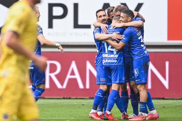 Ontketend AA Gent speelt Club Brugge van de mat en wint met 6-1