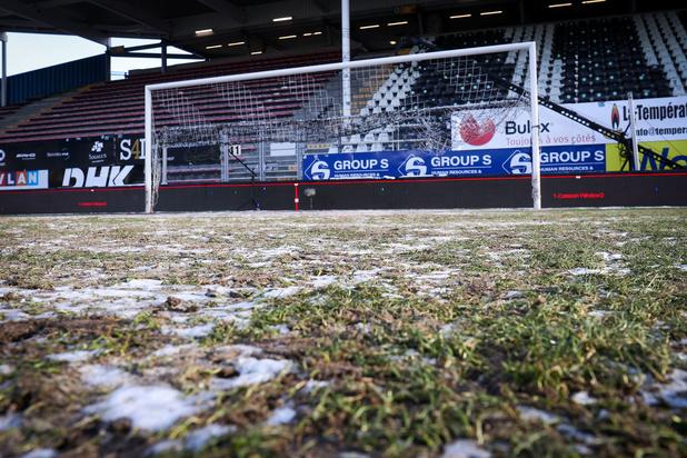 Ook competitieduel tussen Charleroi en Club Brugge kan niet doorgaan