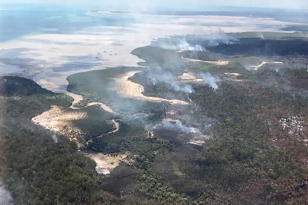 Australische bosbranden teisteren Unesco-werelderfgoed