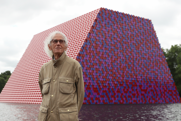 Kunstenaar Christo (84) overleden