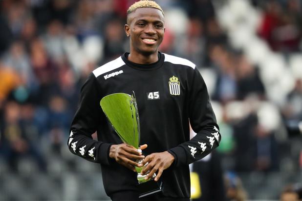Charleroi a levé l'option d'achat de 3,5 millions pour Victor Osimhen