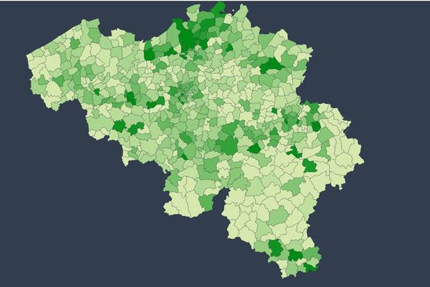 Les chiffres du coronavirus en Belgique depuis le déconfinement (carte + infographie)