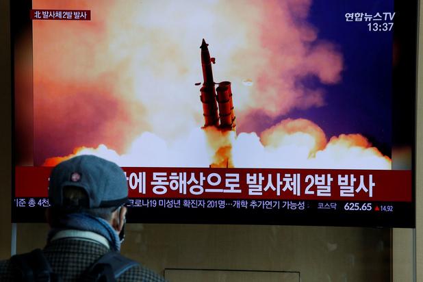 Noord-Korea lanceert opnieuw 'niet-geïdentificeerd' projectiel