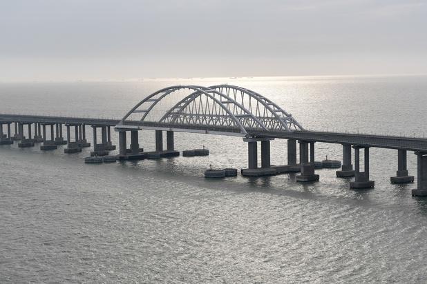 Oekraïne start strafprocedure na aankomst eerste Russische passagierstrein in Krim