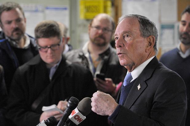 Bloomberg News stuurt berichtgeving bij na presidentskandidatuur van Michael Bloomberg
