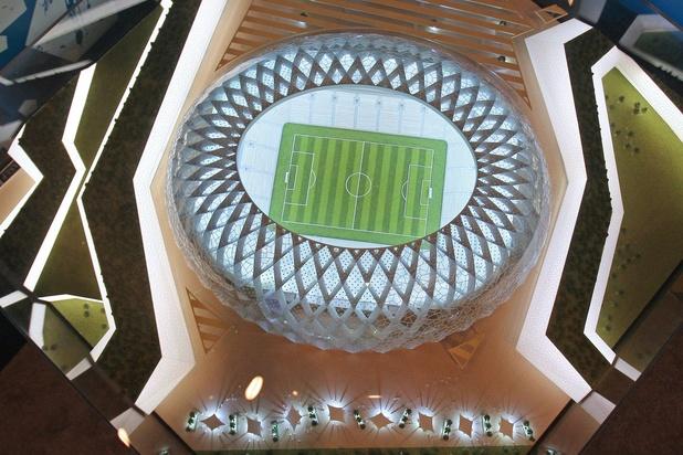 Le Qatar inaugure son premier stade neuf pour la Coupe du monde 2022