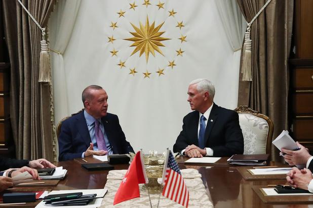 Turkije akkoord met tijdelijk staakt-het-vuren in Syrië