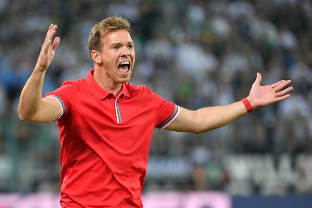 32-jarige coach Julian Nagelsmann jaagt met RB Leipzig op Duitse titel