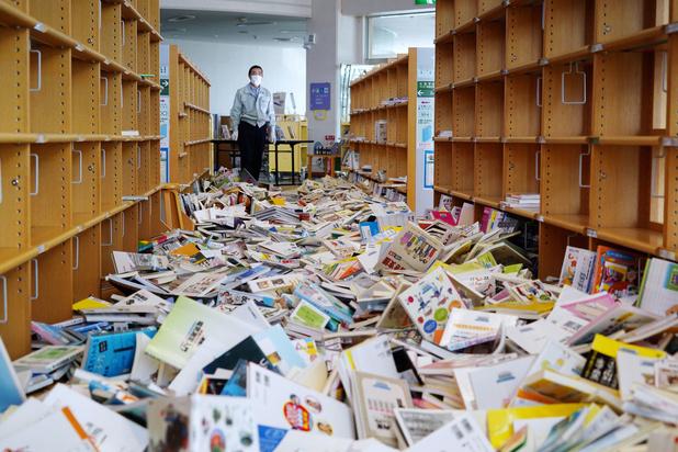 Fukushima getroffen door naschok van zeebeving 2011