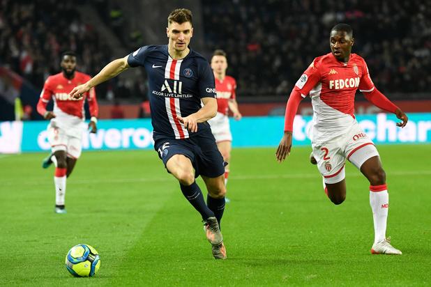Partage spectaculaire entre le PSG et Monaco, Meunier joue 90 minutes