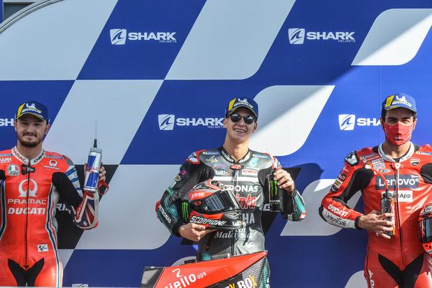 GP de France: Succès de Danilo Petrucci (Ducati), Quartararo garde la tête du championnat
