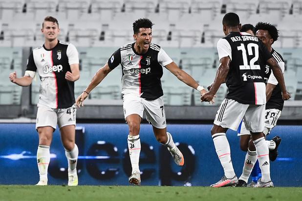La Juve championne: Sarri peut remercier Ronaldo