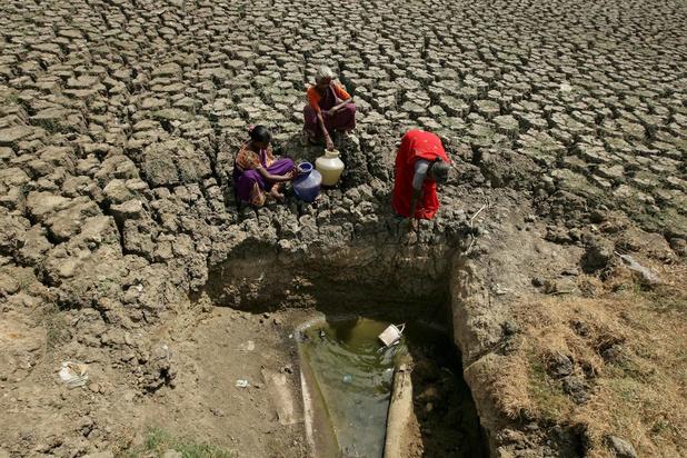 Fortes chaleurs en Inde: une des plus grandes villes quasiment à sec