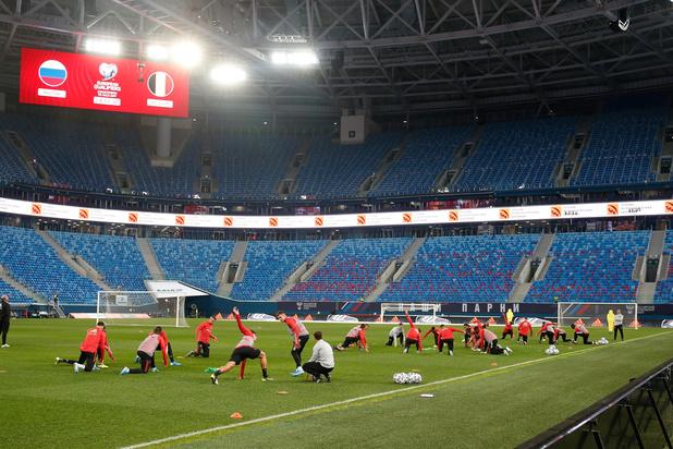 EURO 2020: Rode Duivels spelen twee keer in Rusland en een keer in Denemarken