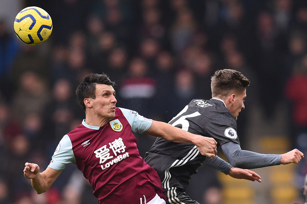 Leicester surpris à Burnley malgré un assist de Praet (2-1)