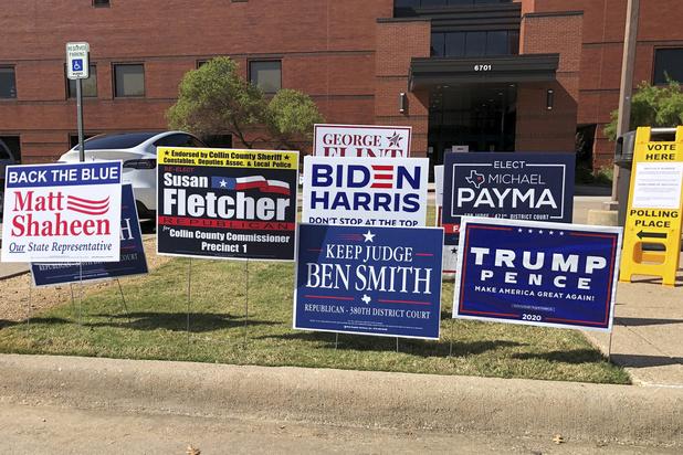 Nu al meer gestemd in Texas dan bij verkiezing 2016