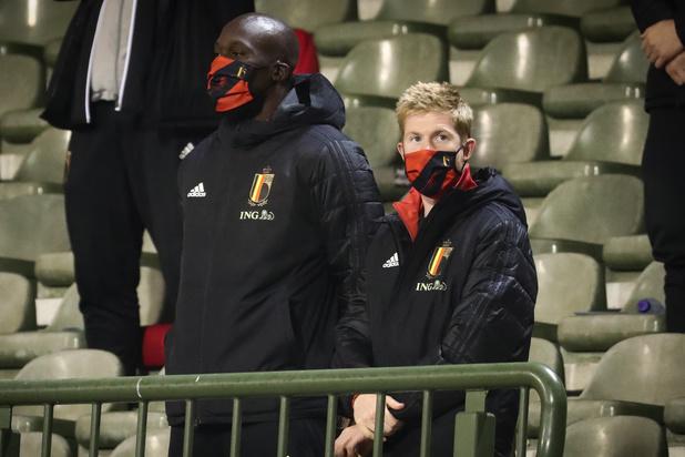 De Bruyne et Lukaku s'entraînent individuellement avant le match face à l'Angleterre