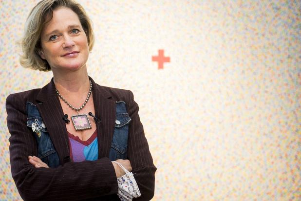 Delphine van Saksen-Coburg: 'Ik heb het recht gekregen om te bestaan'