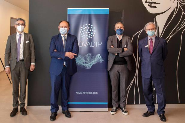Novadip décroche un soutien de 9,4 millions d'euros du gouvernement wallon