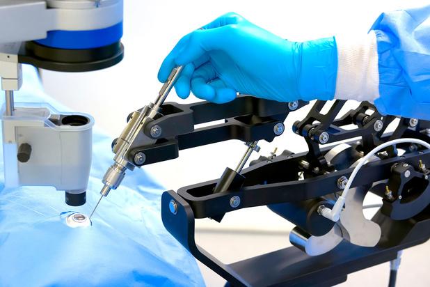 Nieuwe oogrobot voert operaties met bovenmenselijke precisie uit