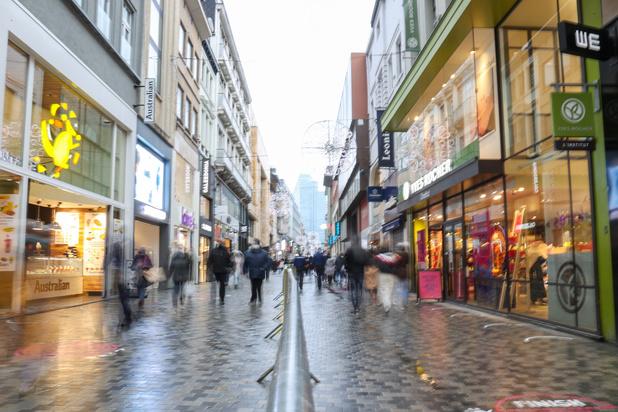 Les loyers des surfaces commerciales du Meir à Anvers et rue Neuve à Bruxelles diminuent