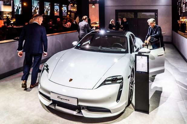 Porsche verwacht dat elektrische Taycan voor 30% van Belgische inschrijvingen zal zorgen