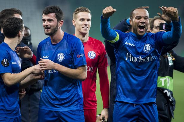 AA Gent overwintert in Europa League na gelijkspel in Saint-Etienne