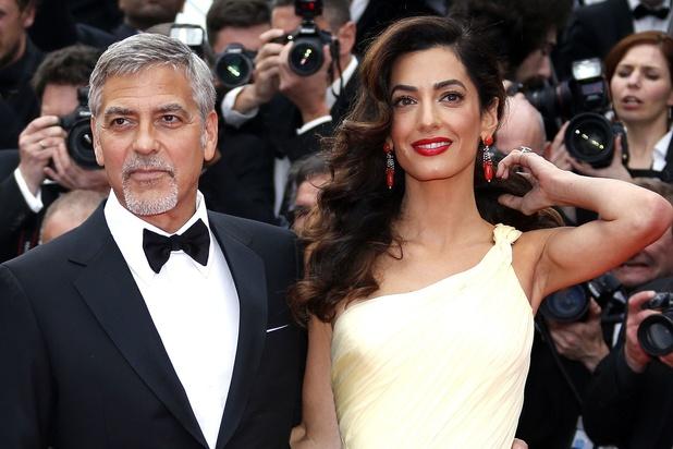 Amal et George Clooney font un don de 100.000 dollars pour le Liban