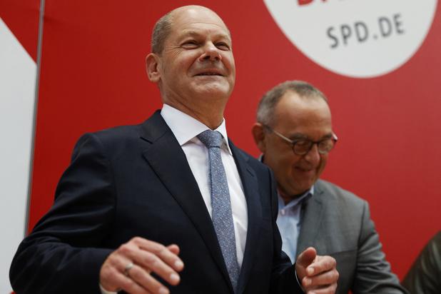 Olaf Scholz: 'Duitse kiezers gaven SPD, Groenen en FDP zichtbaar mandaat voor regering'