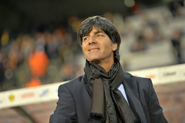Joachim Löw (Duitsland) zou graag tegen België willen oefenen voor EK