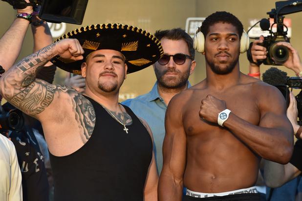 Andy Ruiz Jr en Anthony Joshua kampen om wereldtitel zwaargewichten