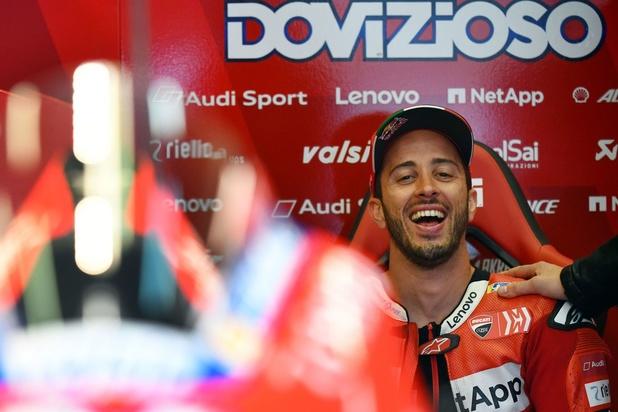 Andrea Dovizioso va rouler une manche du championnat DTM dans l'écurie belge WRT
