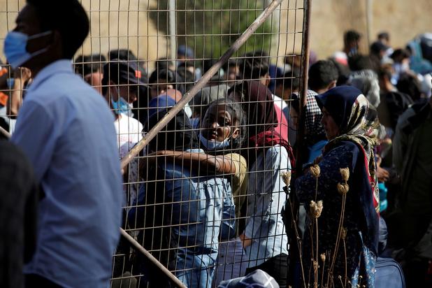 """A Lesbos, le nouveau camp de migrants est """"pire que Moria"""""""