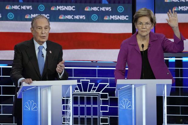 Democratisch debat: alle pijlen op Bloomberg gericht