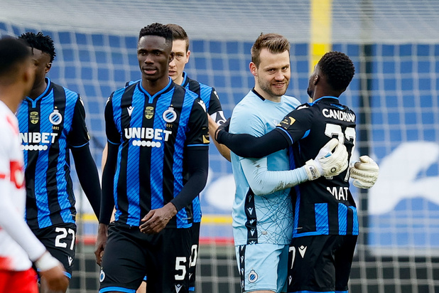 Club Brugge legt Standard over de knie