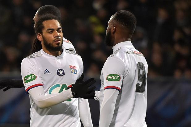 Jason Denayer et Lyon en demi-finales de la Coupe de la Ligue