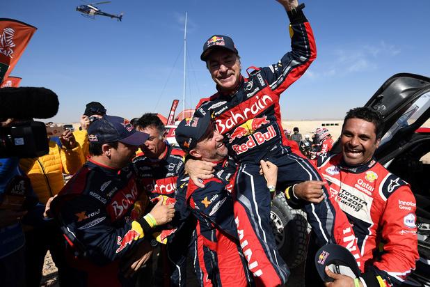 Dakar 2020: Carlos Sainz wint voor derde keer