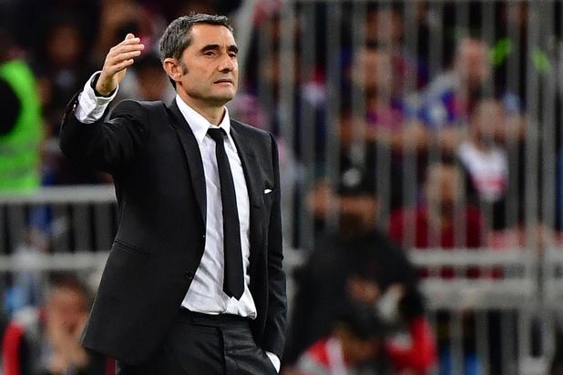 Barcelona ontslaat coach Ernesto Valverde, Quique Setien neemt over