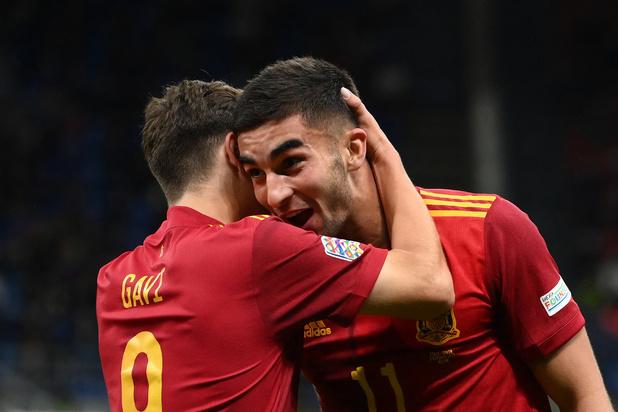 Nations League: l'Espagne met un terme à l'invincibilité de l'Italie et se hisse en finale