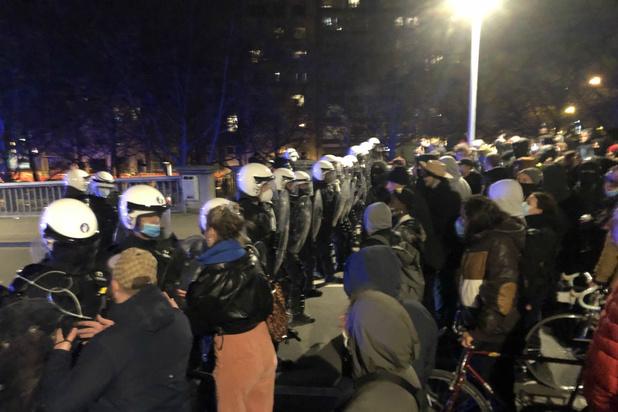 Organisatoren van protestmars in Luik zoeken getuigen van 'repressie' door politie