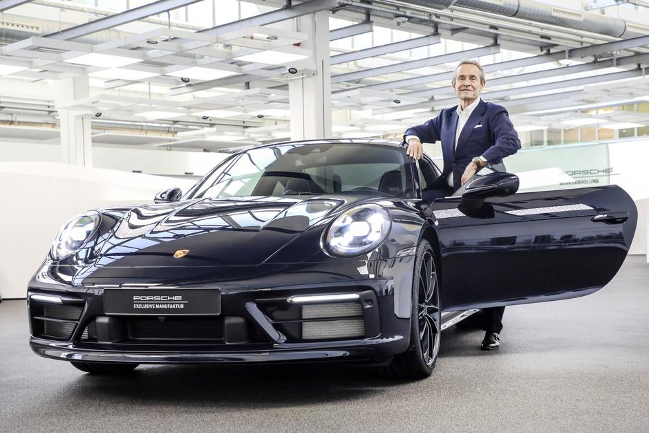 Porsche eert jarige Jacky Ickx met 911 Carrera 4S 'Belgian Legend Edition'