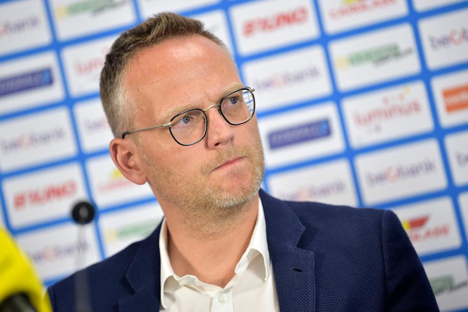 Genk-voorzitter Peter Croonen: 'Wij zijn voor puntenhalvering. Dat is goed voor de spanning'