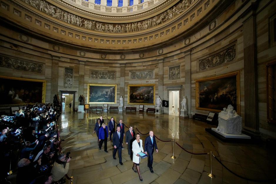 'Impeachmentprocedure gaat invloed hebben op Democratische voorverkiezingen'
