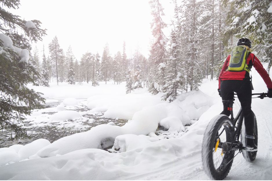 De geboden voor de winterse fietser: overweeg winterbanden