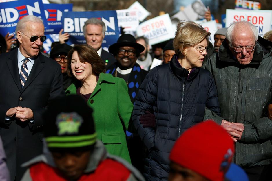 Democratische voorverkiezingen: 'De situatie in Iowa kan nog alle kanten op'