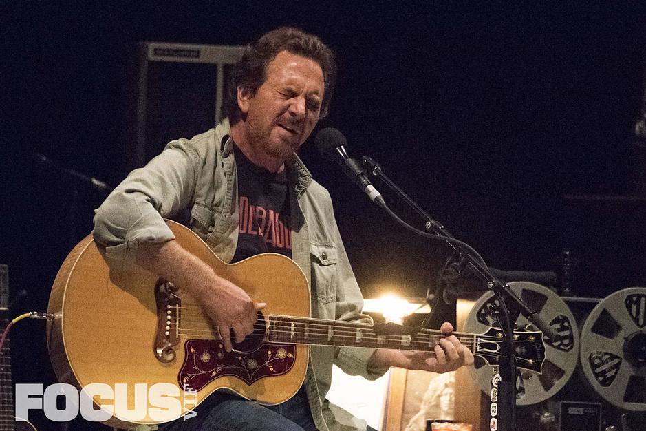 Eddie Vedder à Forest National: les photos d'Étienne Tordoir